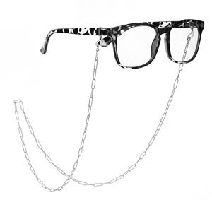 """30"""" Sterling Silver Glasses Chain 7.99g"""