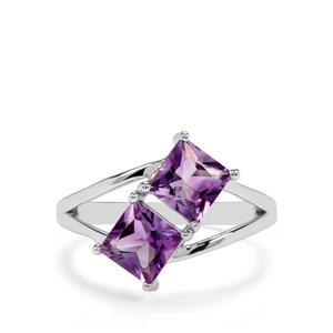 1.92ct Moroccan Amethyst Sterling Silver Ring