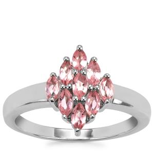 Kaffe Tourmaline Ring in Sterling Silver 0.69ct