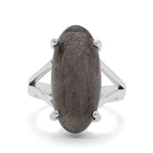 11ct Labradorite Sterling Silver Aryonna Ring