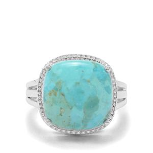 9.53ct Cochise Turquoise Sterling Silver Ring