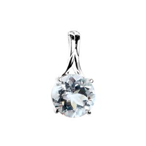 4.56ct Cullinan Topaz Sterling Silver Pendant