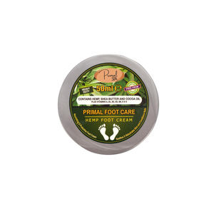 Natural Hemp Foot Cream 50g Set of 2