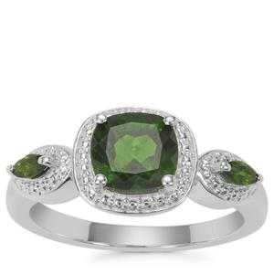 Chrome Diopside Ring in Sterling Silver 1.63cts
