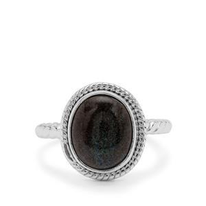 3ct Andamooka Opal Sterling Silver Aryonna Ring