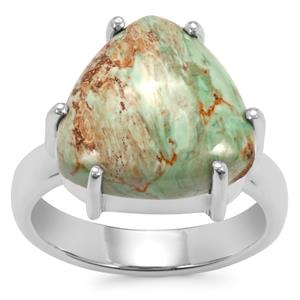 Australian Variscite Ring in Sterling Silver 7.50ctS
