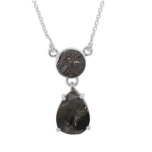 Shungite Necklace in Sterling Silver 8.70cts
