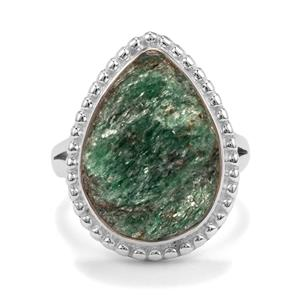 10ct Fuchsite Drusy Sterling Silver Aryonna Ring