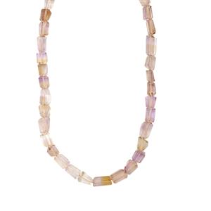Mato Grosso Ametrine Nugget Necklace in Sterling Silver 126cts