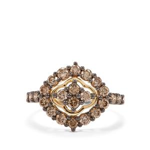 1ct Argyle Diamond 18K Gold Tomas Rae Ring
