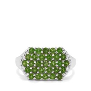 1.65ct Chrome Diopside Sterling Silver Ring