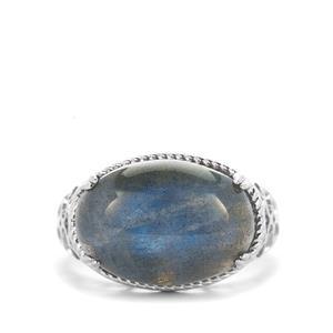 8.10ct Labradorite Sterling Silver Ring