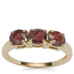 Burmese Spinel Ring in 10K Gold 2.20cts