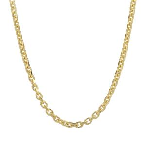"16"" Midas Classico Diamond Cut Cable Chain 2.34g"