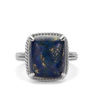 Lapis Lazuli Ring in Sterling Silver 10.07cts