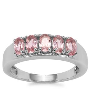 Kaffe Tourmaline Ring in Sterling Silver 1.13ct