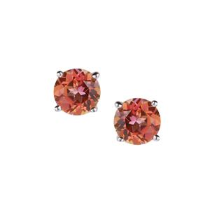 Mystic Twilight Topaz Earrings in Sterling Silver 3.12cts