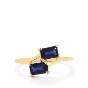 0.97ct Orissa Iolite 9K Gold Ring