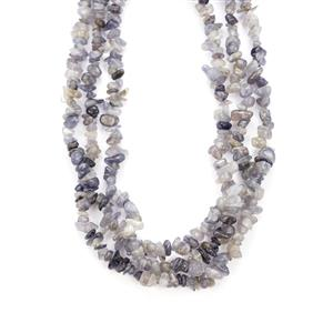 Iolite Necklace  in Sterling Silver 450cts