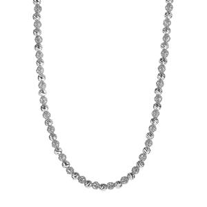 "18"" Sterling Silver Altro Italiano Necklace 11.80g"