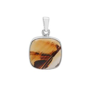 Montana Agate Pendant in Sterling Silver 9.53cts