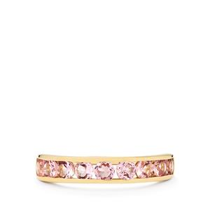 Pink Spinel Ring  in 10k Gold 1.19cts