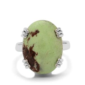 14ct Queensland Chrysoprase Sterling Silver Aryonna Ring