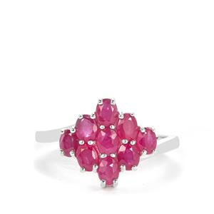 John Saul Ruby Ring in Sterling Silver 2.16cts