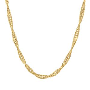 "24"" Midas Couture Singapore slider Chain 2.75g"