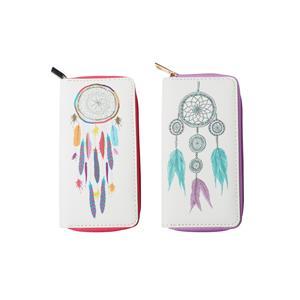 Destello Dream Catcher Purse  - 2 Designs Available .01=Purple Zip / .02= Pink Zip