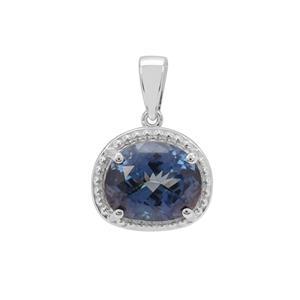 Hope Topaz Pendant in Sterling Silver 6.60cts