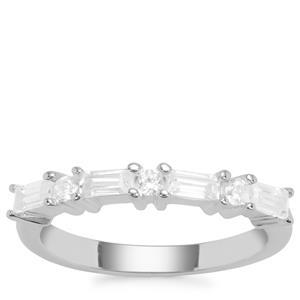 Ratanakiri Zircon Ring  in Sterling Silver .92cts