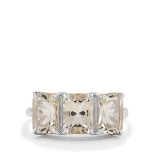 4.15ct Serenite Sterling Silver Ring