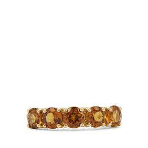 2.05ct Mali Garnet 9K Gold Ring