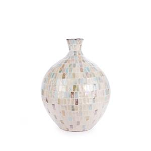 Santorini Mother of Pearl Vase