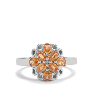 1.53ct Tulelei Sterling Silver Ring