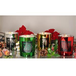Christmas Metallic Candles
