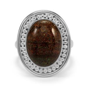 6ct Andamooka Opal Sterling Silver Aryonna Ring