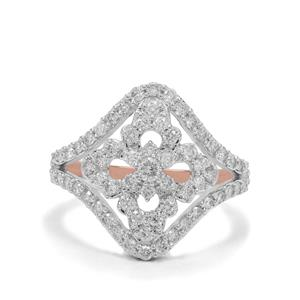 1ct Argyle Diamond 9K Rose Gold Ring