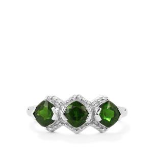1.74ct Chrome Diopside Sterling Silver Ring