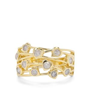 1/2ct Diamond 9K Gold Tomas Rae Ring