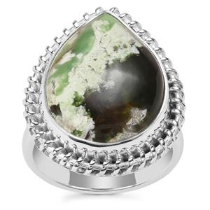 Opal Chalcedony Ring in Sterling Silver 10cts