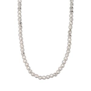 Silver Haematite Bead Necklace 681.76cts