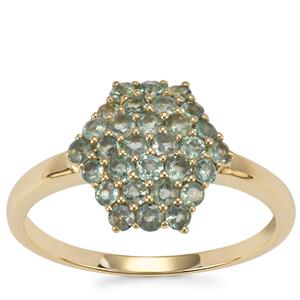 Alexandrite Ring in 9K Gold 0.84ct
