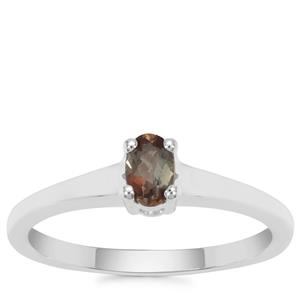 Gouveia Andalusite Ring in Sterling Silver 0.22ct