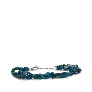 Apatite Bracelet in Sterling Silver 70cts