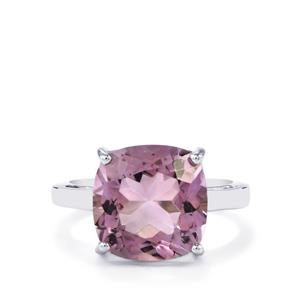 Rose De France Amethyst Ring in Sterling Silver 6.80cts