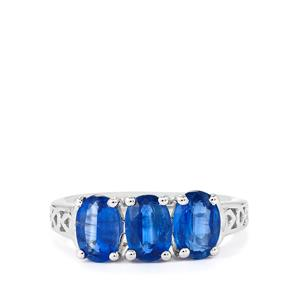 2.57ct Daha Kyanite Sterling Silver Ring