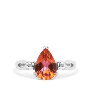 Mystic Twilight Topaz Ring in Sterling Silver 1.95cts