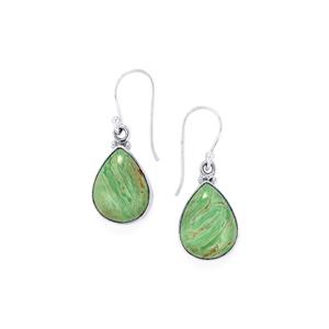 14ct Australian Variscite Sterling Silver Aryonna Earrings